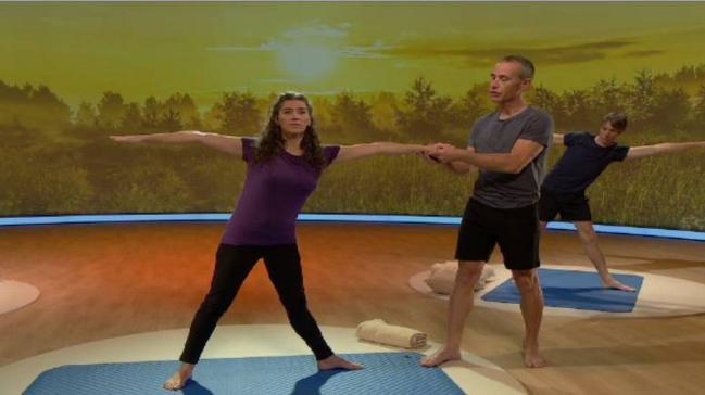 Mezz'ora per voi: Yoga - Yoga, puntata 3: prime posizioni ...