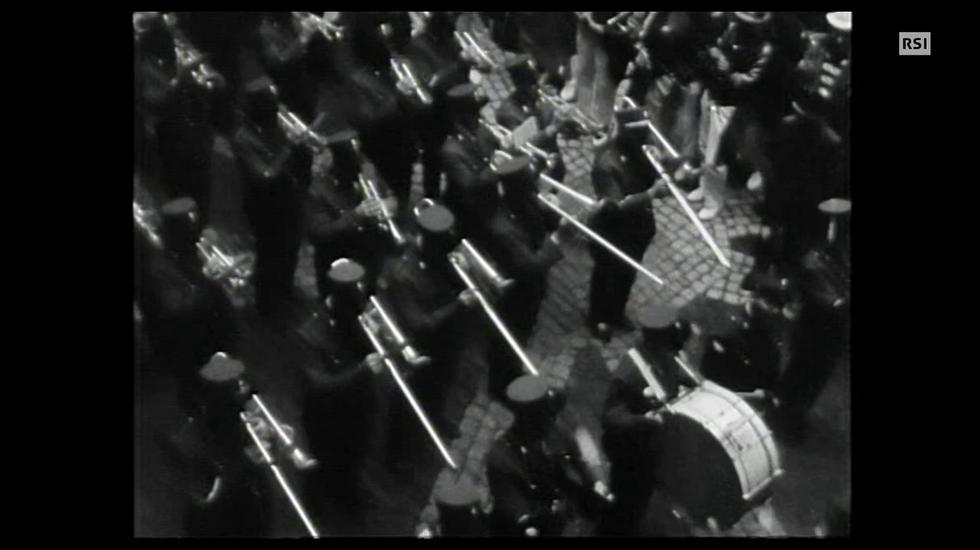 Carnevale 1966 a Ponte Tresa