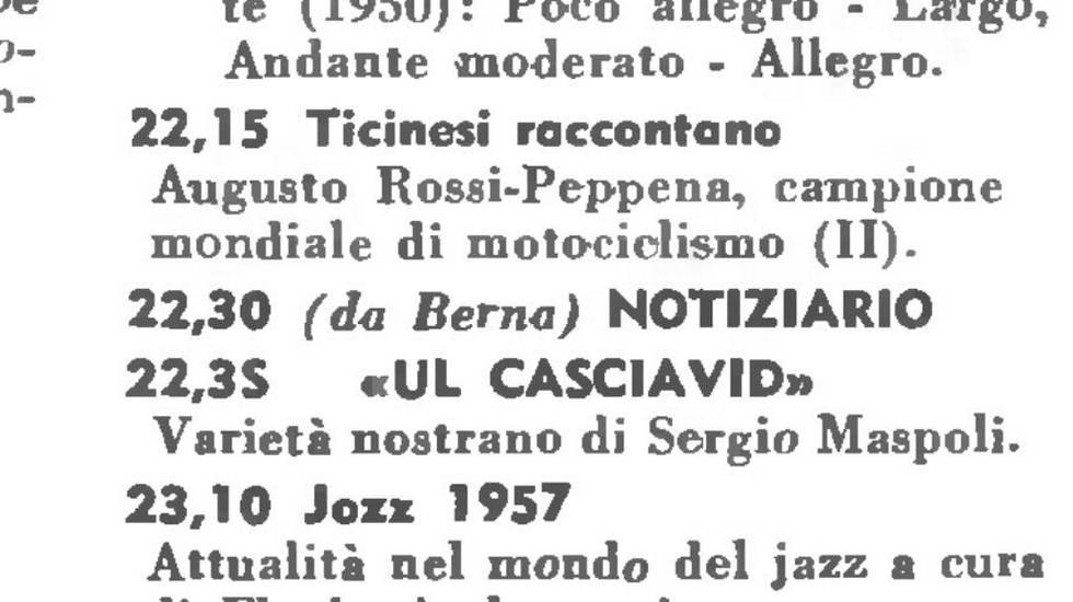 Augusto Rossi e Nuvolari alle prime corse