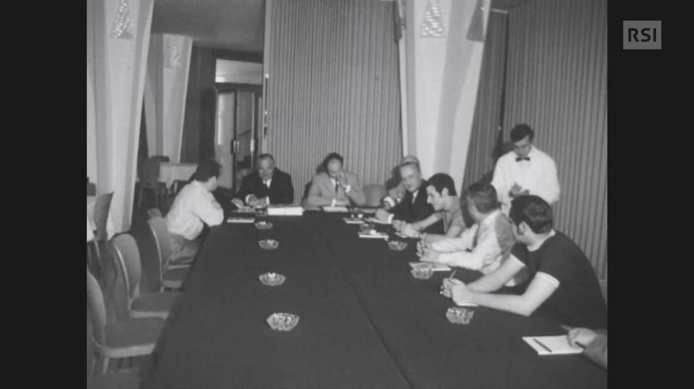 Sta per cominciare la festa cantonale di ginnastica – 1969