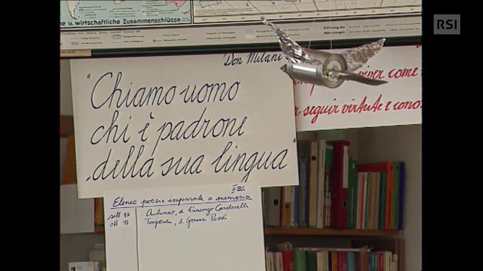 «Parlo un'altra lingua, ma ti capisco» a Poschiavo e Samedan