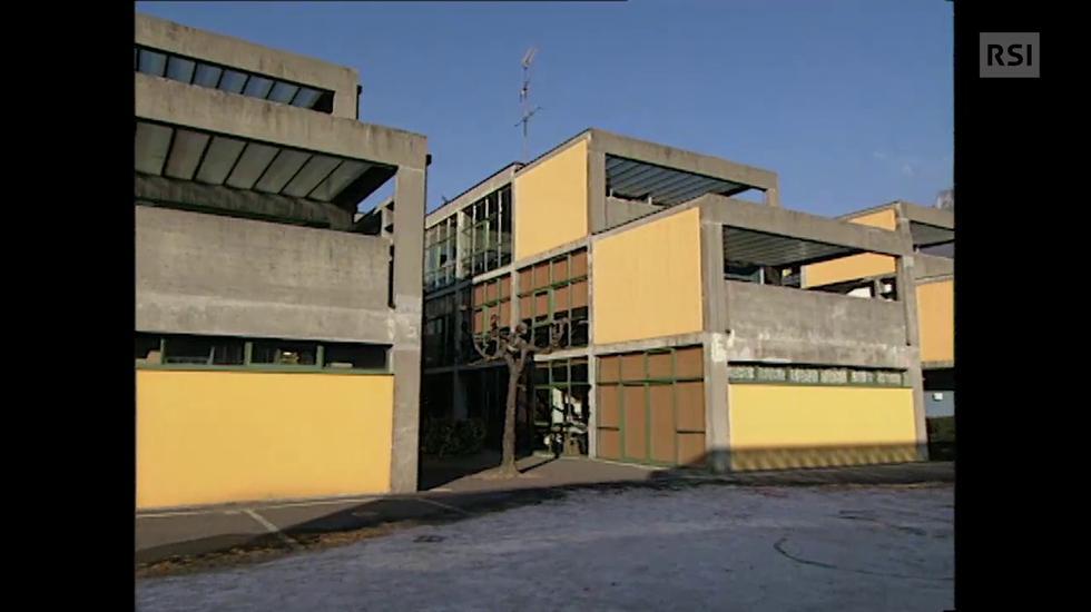 La scuola elementare di Riva San Vitale