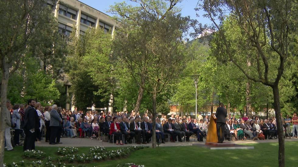 Inaugurato il «Giardino dei giusti» di Lugano