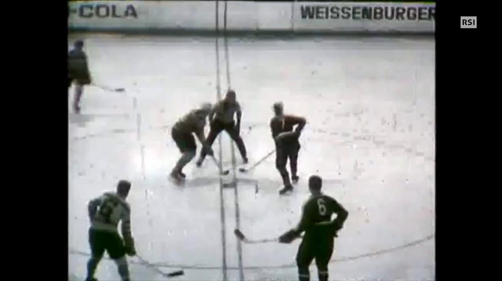 1964 — Il derby Lugano-Ambrì in DNB