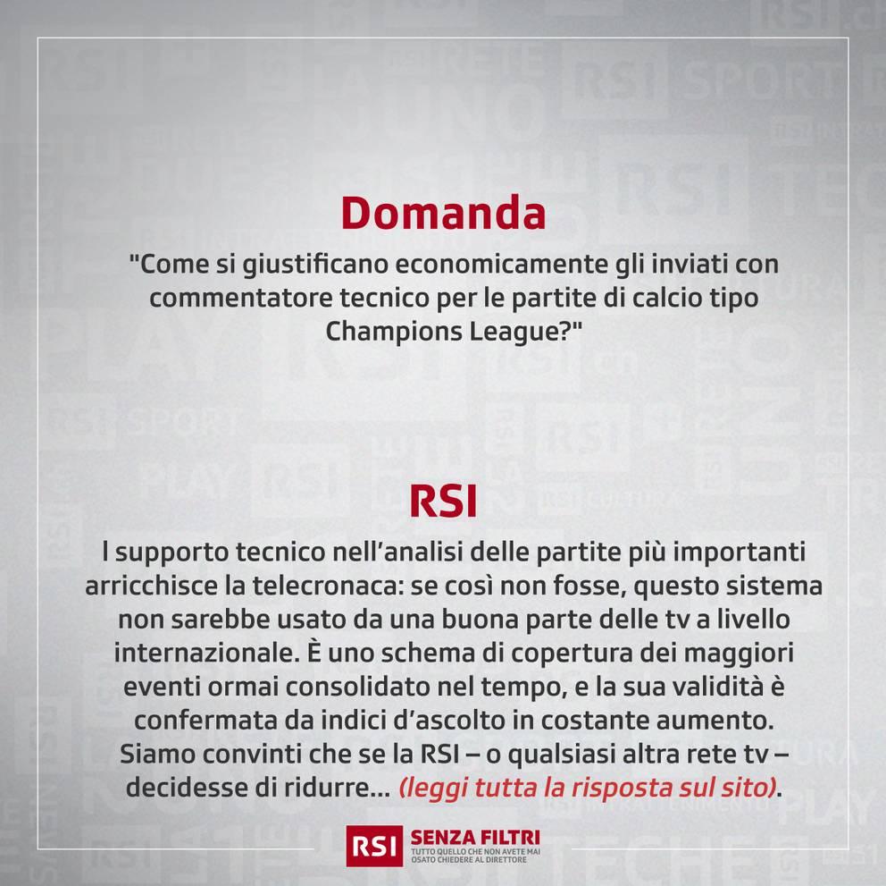 """""""Sport, troppi commentatori"""""""