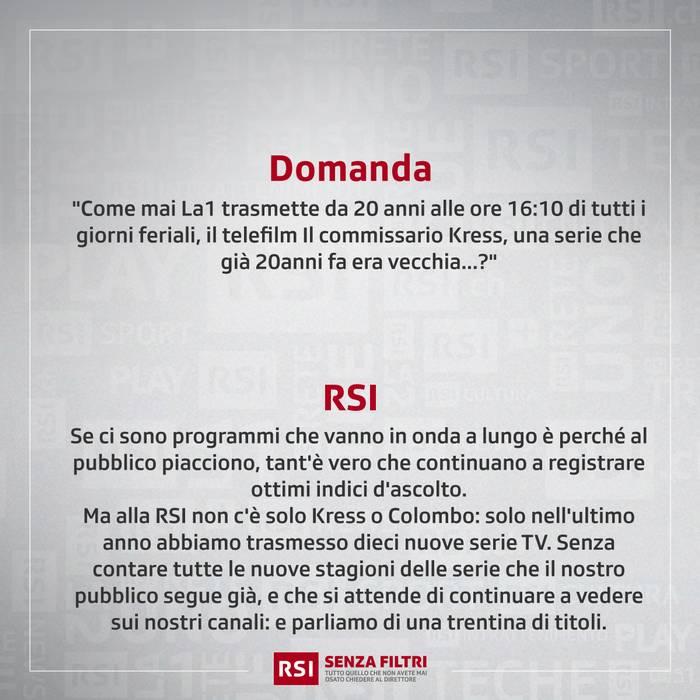 """""""Troppe repliche e vecchie serie TV"""""""