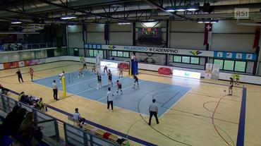 Volley, Lugano - Kanti Sciaffusa (La Domenica Sportiva 16.12.2018)