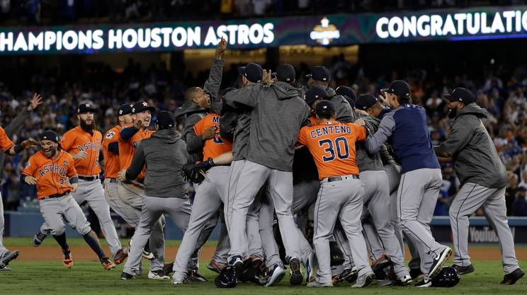 Gli Astros vincono le World Series