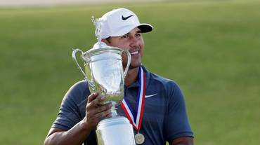 Gli US Open di golf a Brooks Koepka