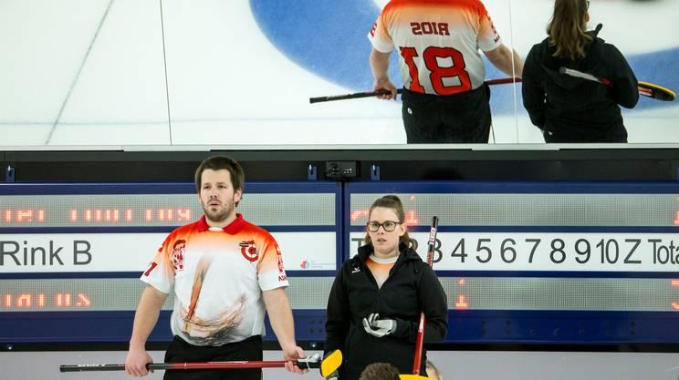 Curling, Svizzera iridata nel doppio misto