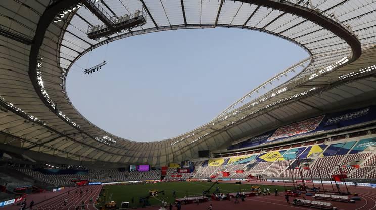 L'avveniristico stadio Khalifa, dotato anche di aria condizionata