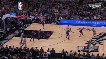 NBA, il servizio su Lakers - Spurs (Sportsera 08.12.2018)