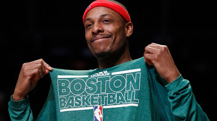 Paul Pierce si ritira in biancoverde