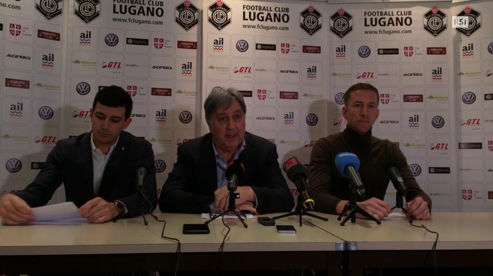 Super League, le parole di Angelo Renzetti alla presentazione di Marc Janko (06.02.2018)