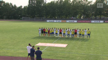 Coppa Svizzera, Novazzano - Echallens (18.08.2018)