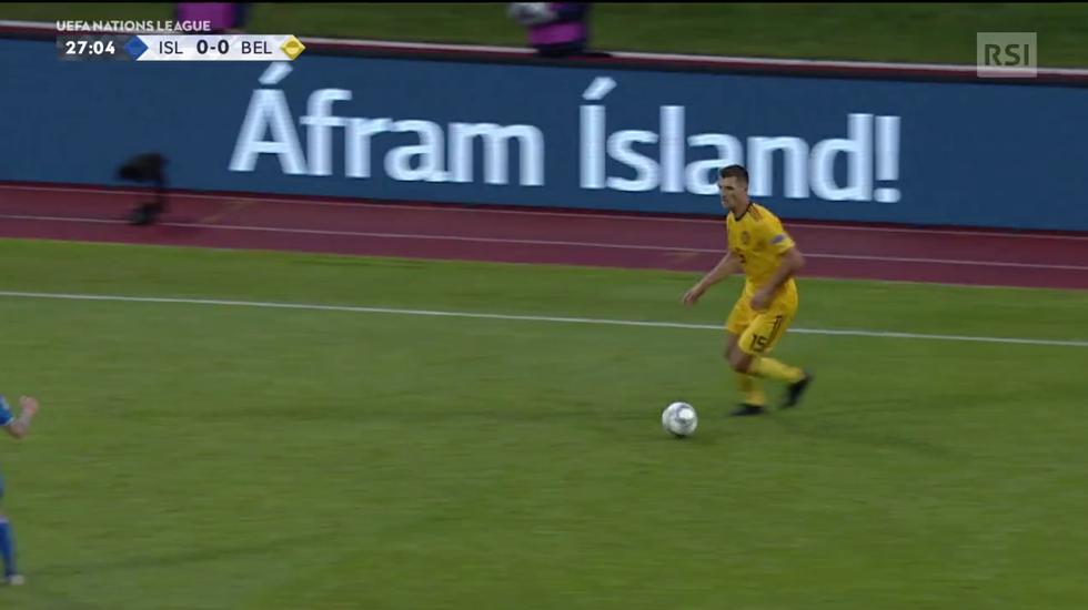 Nations League, Islanda - Belgio (11.09.2018)