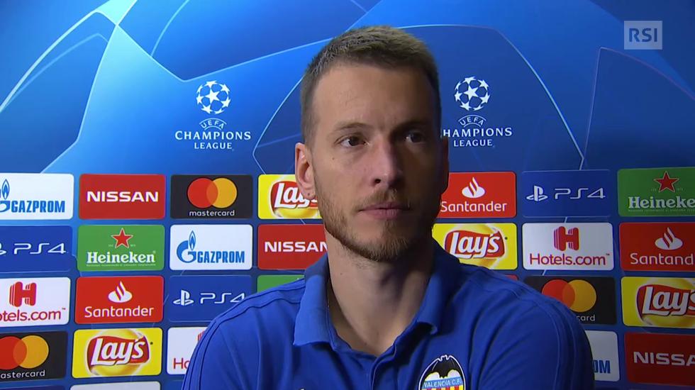 Champions League, l'intervista a Neto (07.11.2018)