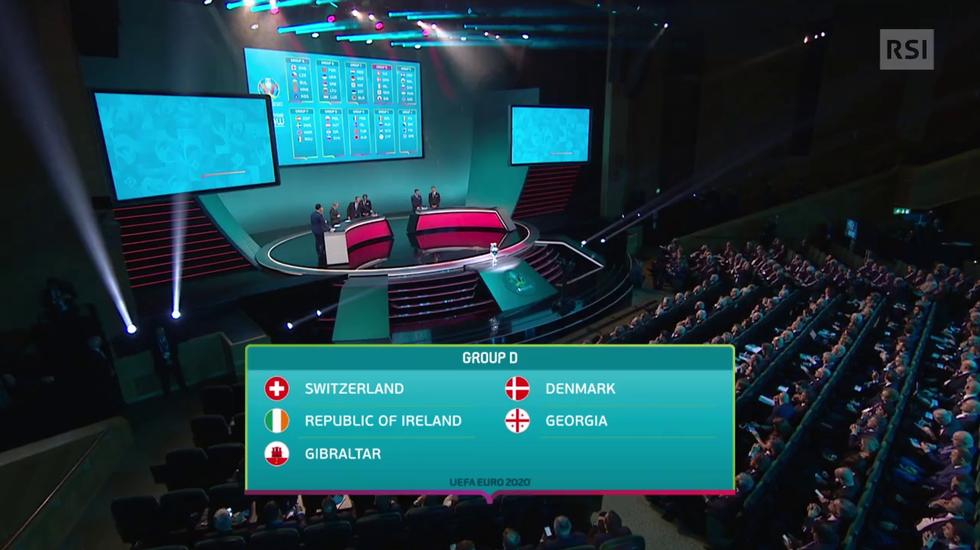 Qualificazioni Euro 2020, il servizio sul sorteggio (La Domenica Sportiva 02.12.2018)