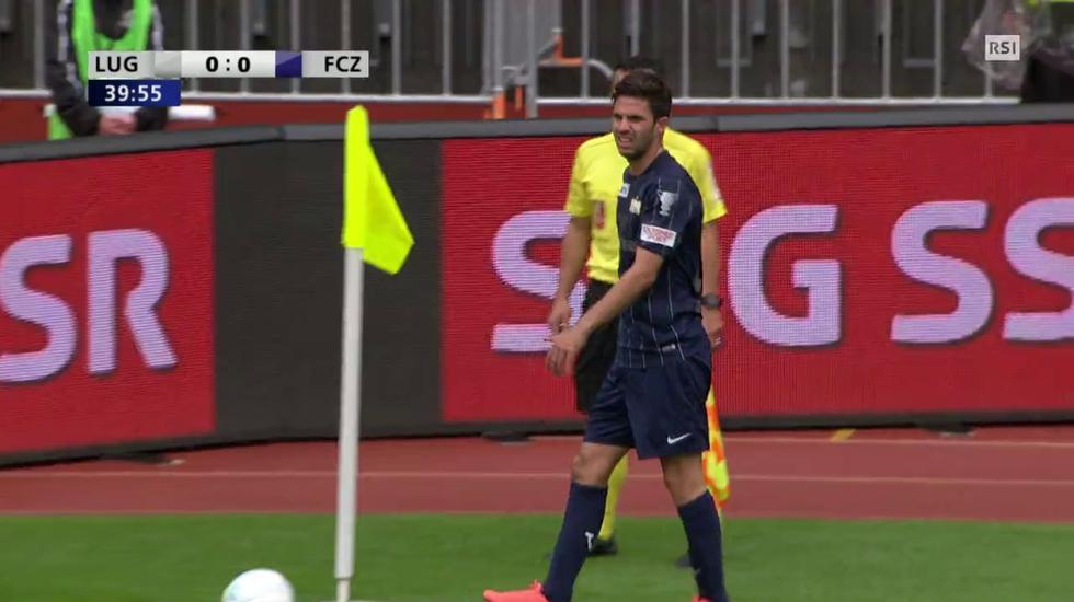 Coppa Svizzera, lo 0-1 di Sarr in Lugano - Zurigo (29.05.2016)