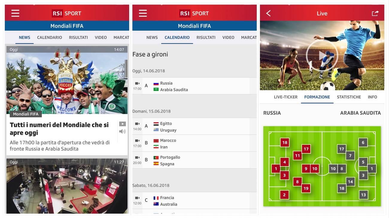 L'App RSI Sport