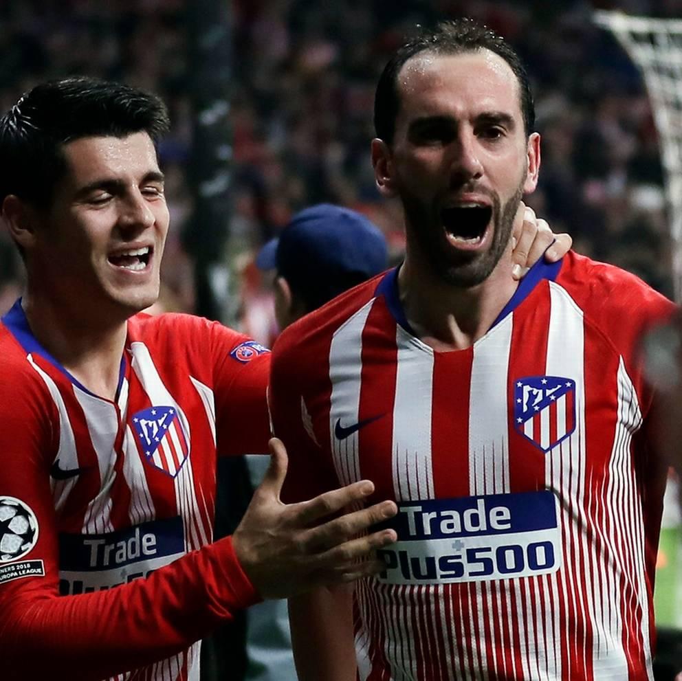Con due gol l'Atletico mette in crisi la Juventus