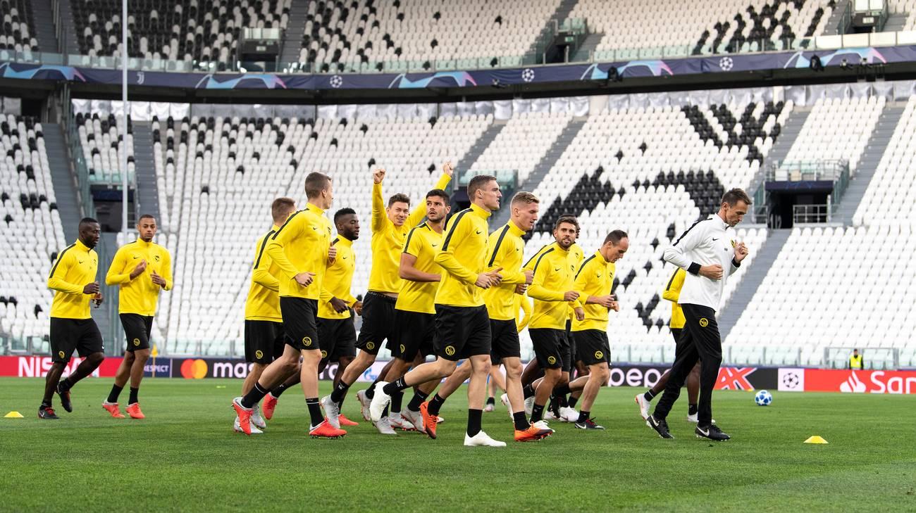 Champions: Mandzukic a quota gol contro lo Young Boys