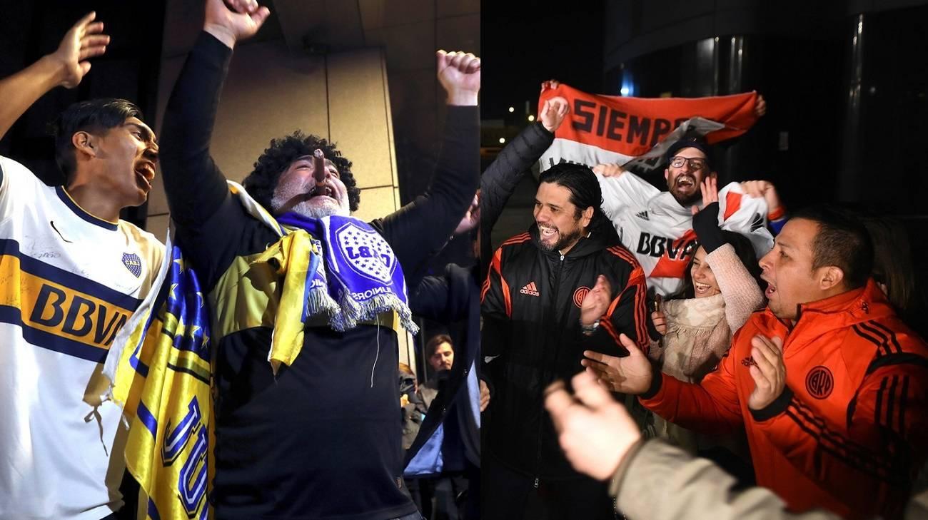 I fan di entrambe le formazioni hanno già infiammato la città