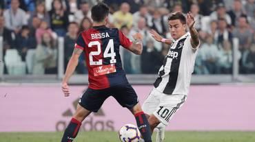 Il Genoa frena la Juventus