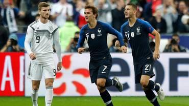 Rimonta Francia, Germania nello sconforto