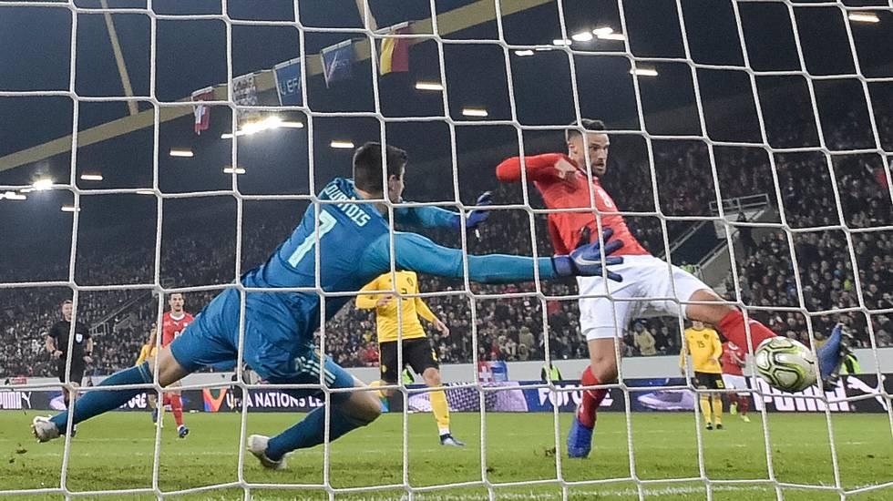 Nations League, le highlights di Svizzera - Belgio (18.11.2018)