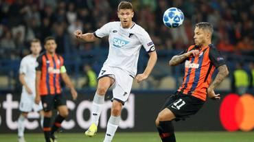 Hoffenheim bloccato dallo Shakhtar all'esordio