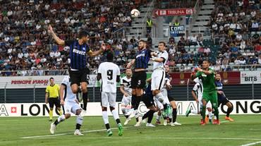 Lugano sconfitto dall'Inter a Cornaredo