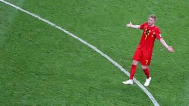 Il Belgio contro la Svizzera senza De Bruyne