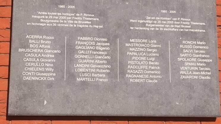 Un'altra lapide commemorativa è stata apposta nel 2005
