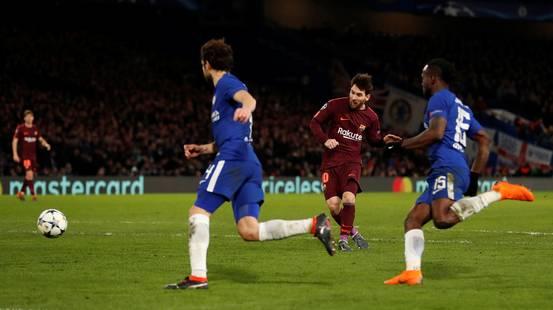 Il Barcellona trova il pareggio col Chelsea