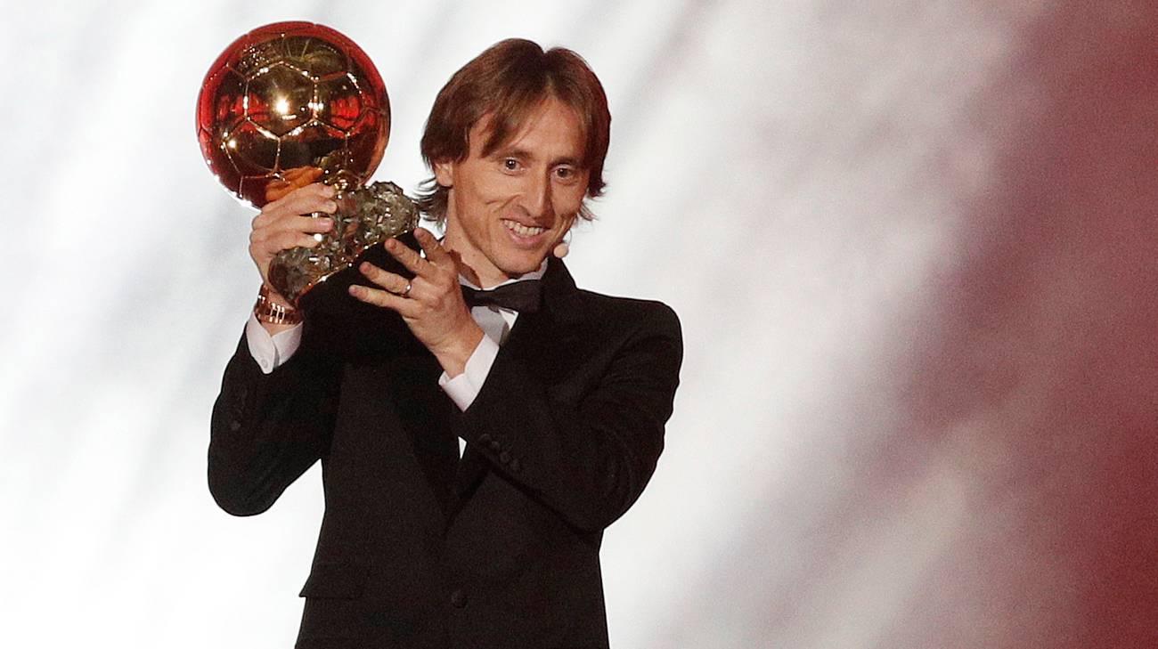 Risultati immagini per Pallone d'Oro a Modric