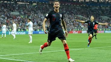 Mandzukic non giocherà più con la Croazia