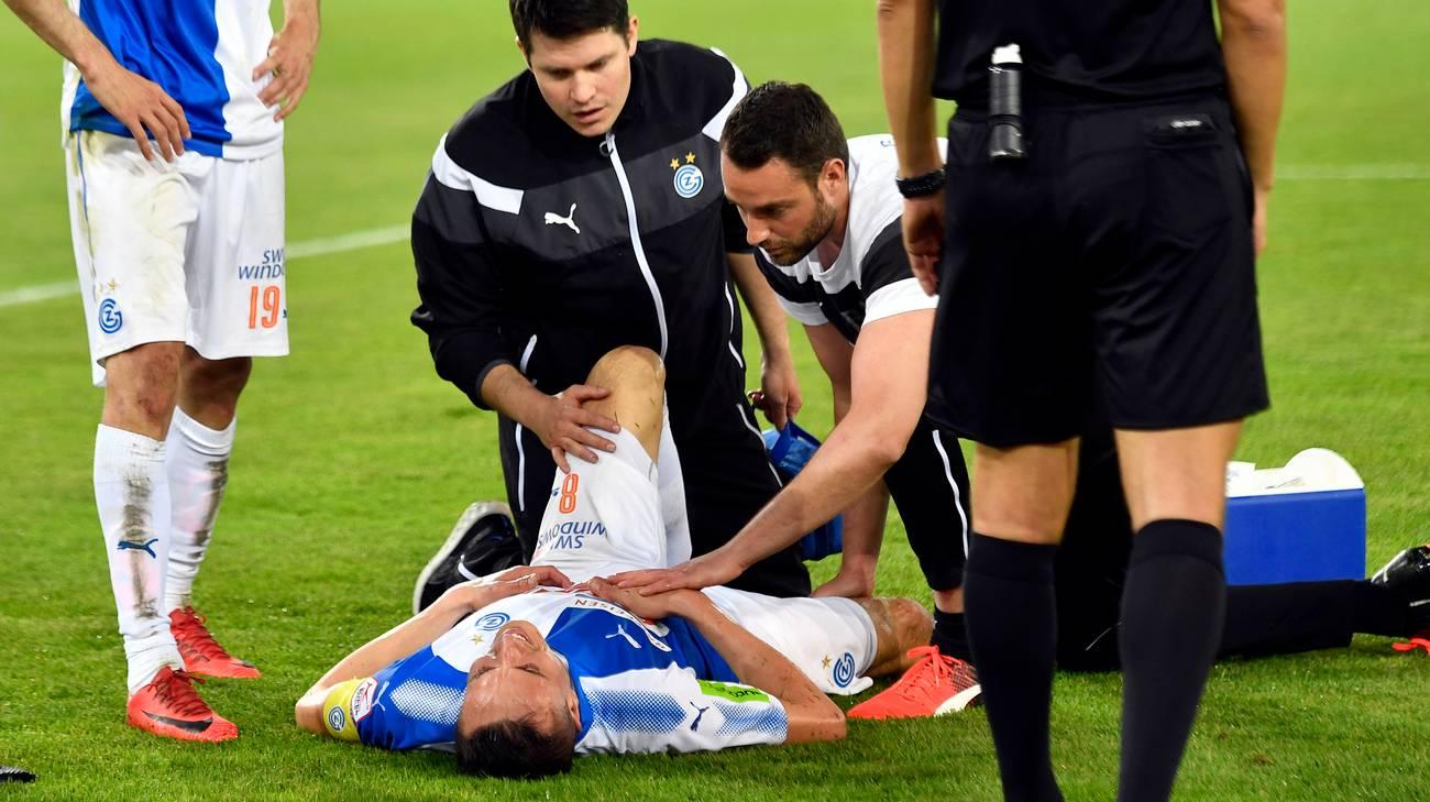 Problema al crociato del ginocchio destro per l'ex bianconero