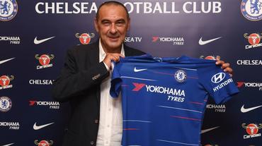 Maurizio Sarri allenerà il Chelsea