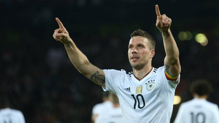 Un'ultima da favola per Podolski