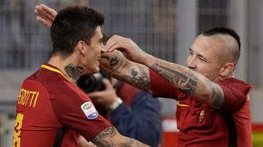 Il derby della Capitale va alla Roma
