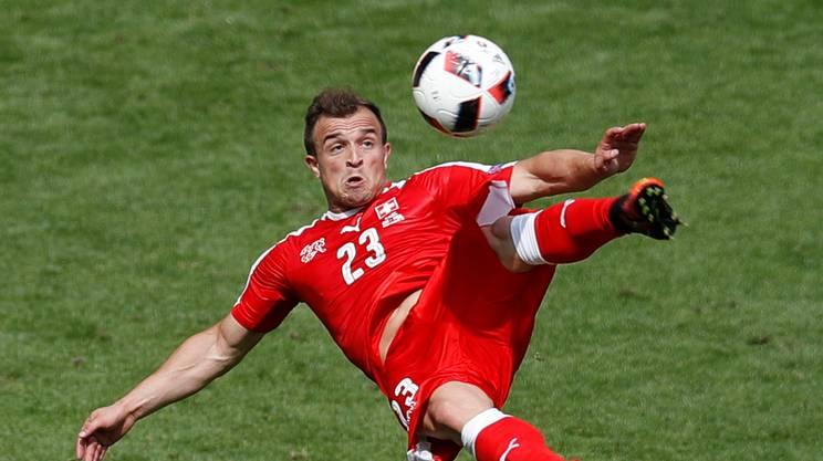 È di Shaqiri il terzo gol dell'anno