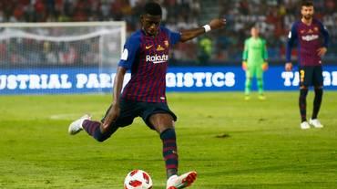 Dembélé regala la Supercoppa al Barcellona