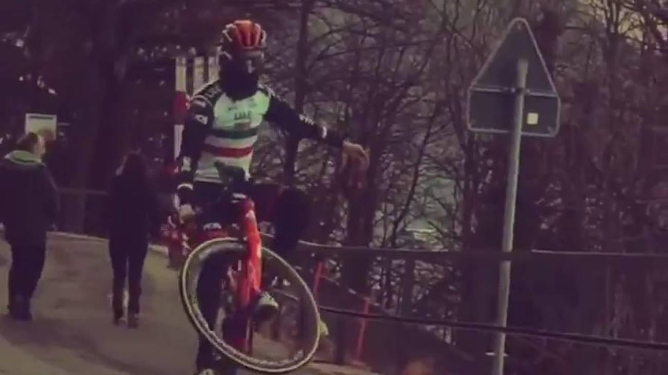 Il ciclista sardo