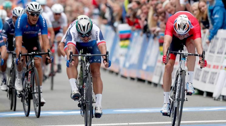 Sagan piazza la tripletta iridata!