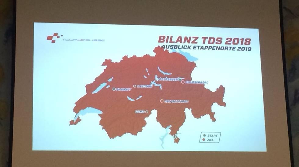 Tour de Suisse 2019 con arrivo sul Gottardo
