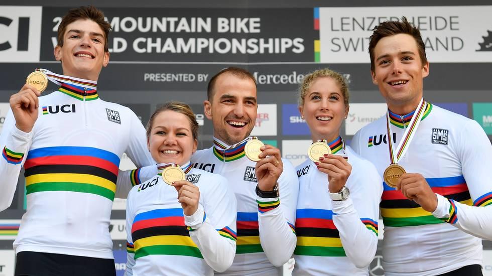 Swiss Cycling Awards a Neff e Schurter