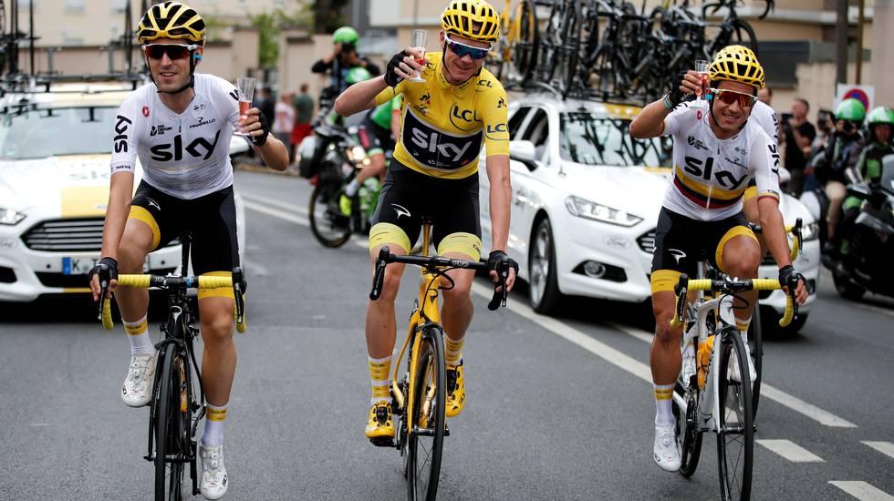 Sky si ritirerà dal ciclismo alla fine del 2019