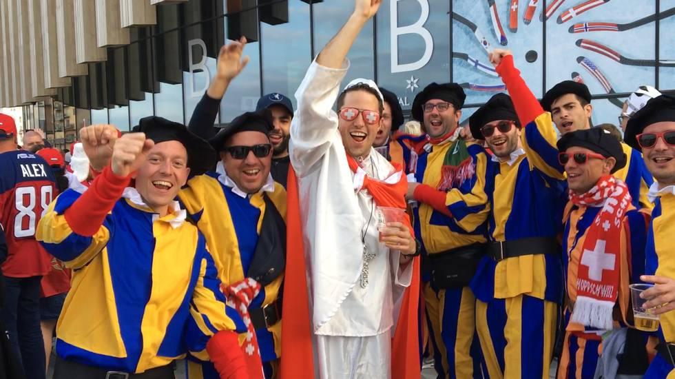 Mondiale, il weekend dei tifosi rossocrociati (14.05.2018)