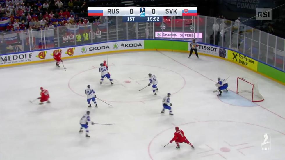 Mondiali, le highlights di Russia - Slovacchia (14.05.2018)
